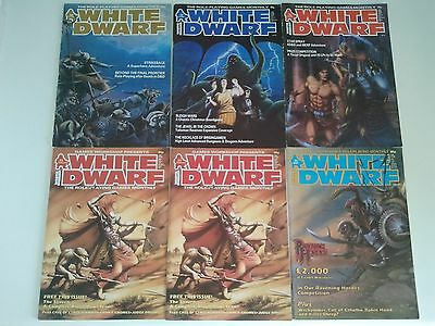 5 WHITE DWARF Magazines 58,72,73,86,89 - Skaven Blood Bowl Team Call of Cthulhu