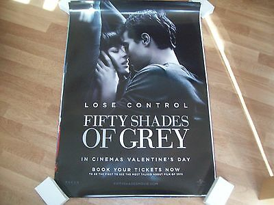Fifty Shades of Grey Cinema one sheet Poster full size Teaser c