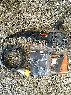Arbortech as170 Allsaw Brick And Mortar Saw Kit 110v With New Blade