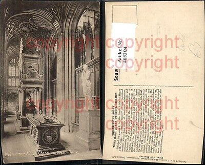 408394,Tod Westminster Abbey Chapel of Queen Mary Gruft Sarg Sarkophag