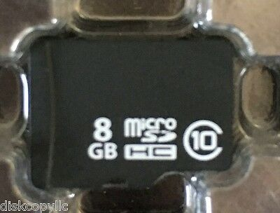 "8gb Class10 MicroSD Card & Adaptor ""Guaranteed Genuine RiDATA"" - Unbranded Bulk"