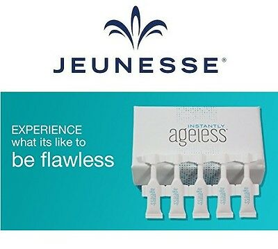 INSTANTLY AGELESS(Antirughe-AntiAging) JEUNESSE UNICO ORIGINALE 5 fiale da 0,6ML