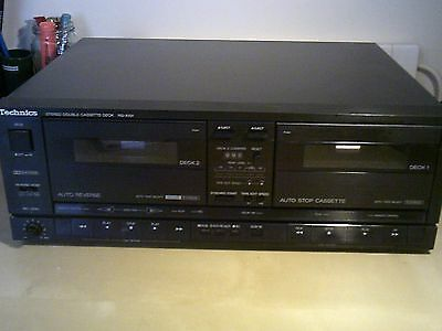 Technics RS X101 Double Stereo Cassette Recorder