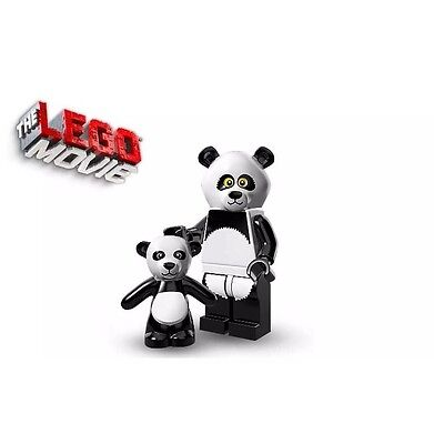SEALED Lego Movie Series Panda Suit Guy Mascot Baby Teddy Bear Minifig Costume