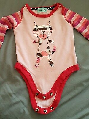Lilly and Sid Baby Girl's Vest top Age 0-6 months