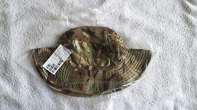 British Army Issue Mtp Combat Bush/tropical Hat, Size 56, New. Lot 1