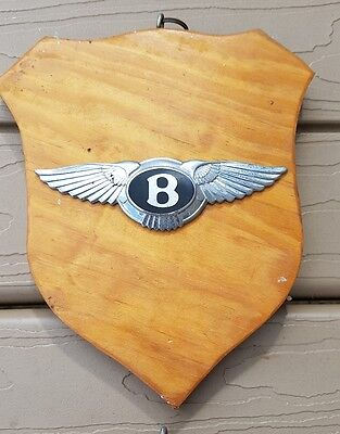 Bentley Car Badge - Beautiful