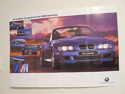 BMW 1997 M Roadster Poster.