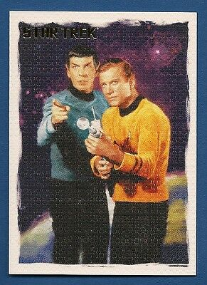 STAR TREK: The Original Series Art & Images - Captain Kirk/Spock - Promo card P2