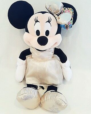 """Minnie Mouse Soft Toy  2013 Collectors  Plush New Nwt 17"""""""