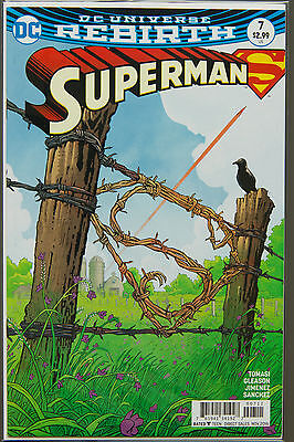 SUPERMAN #7 (2016 Rebirth) --- FIRST Printing - DC US - Bagged Boarded