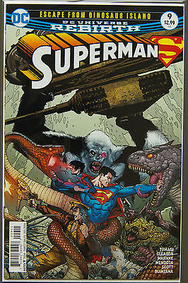 SUPERMAN #9 (2016 Rebirth) --- FIRST Printing - DC US - Bagged Boarded