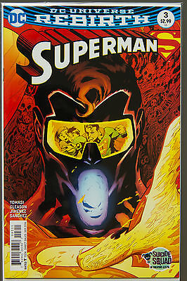 SUPERMAN #3 (2016 Rebirth) --- FIRST Printing - DC US - Bagged Boarded