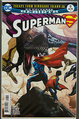 SUPERMAN #8 (2016 Rebirth) --- FIRST Printing - DC US - Bagged Boarded
