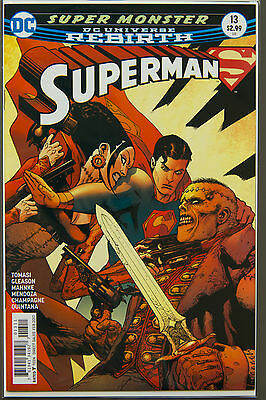 SUPERMAN #13 (2016 Rebirth) --- FIRST Printing - DC US - Bagged Boarded