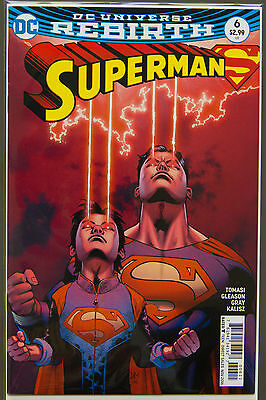 SUPERMAN #6 (2016 Rebirth) --- FIRST Printing - DC US - Bagged Boarded