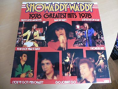 SHOWADDYWADDY - Greatest Hits 1976-1978 - VINYL LP.  VG