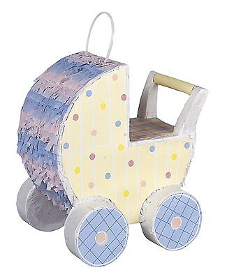 Baby Shower Party Carriage Pram Pinata * Brand New * Fast Delivery