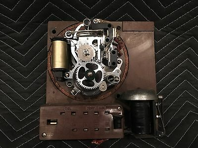 Gamewell Fire Police Alarm Box Inner Mechanism - parts or restoration