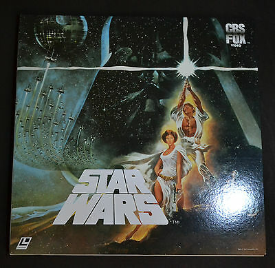 STAR WARS Episode IV A New Hope George Lucas Mark Hamill Laserdisc LD Japan