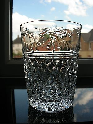 "Stuart  - ""Beaconsfield"" Cut - Single Tumbler - Height Approx 4ins."