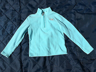 The North Face Girls Small Zip Neck Fleece