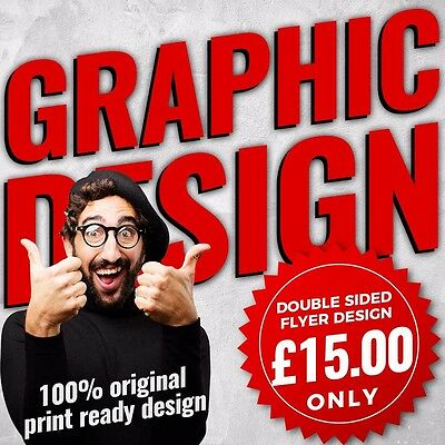 Design Flyer Leaflets Fast Service Bespoke Designs  A5, A6 Double Sided