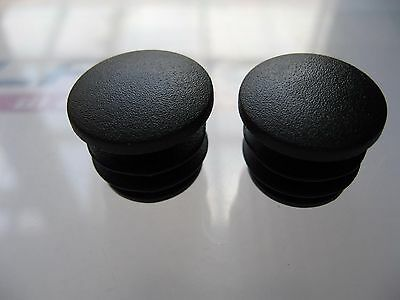 2 x BAR END PLUGS - Bike Handlebar Plastic End Caps ***NEW***