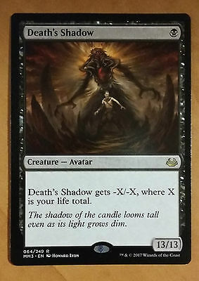 1x Death's Shadow - Modern Masters NM MTG