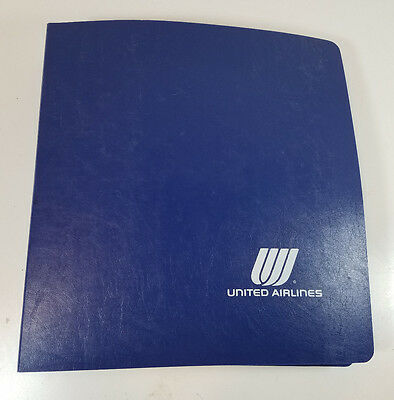 Vtg United Airlines Boeing 737 300/500 Training and Reference Manual Aviation