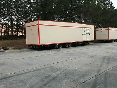 2013 construction/recreation event restroom trailers.