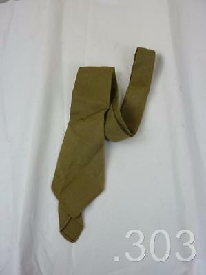 c.WWII US Army / Canadian Military Officer's Khaki Tie