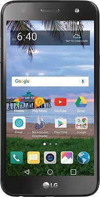 SIMPLE Mobile - LG Fiesta 4G LTE with 16 GB Memory Prepaid Cell Phone - Black...