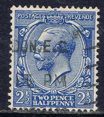 Great Britain #163 (1) 1912 2 1/2 pence ultra George V Used CV$4.50