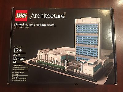 Lego Architecture United Nations Headquarters Factory Sealed New
