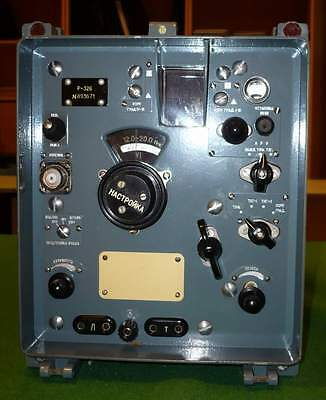 NEW / NOS_but_FAULTY_Russian_R-326_Receiver_without_Power_Supply_[=T=]