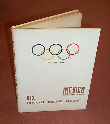 Mexico 1968 Olympic Games bid book report