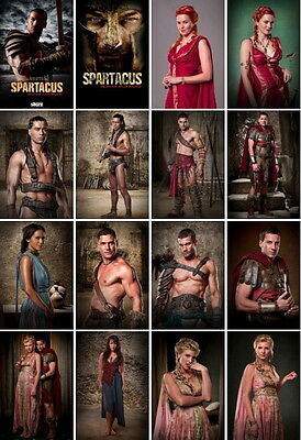 28 postcards of Spartacus TV series gladiator history slave wars Andy Whitfield
