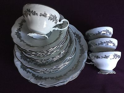 Bavaria, Queen Anne, Tuxedo pattern. 4 peice Place Setting. Total 20 Pieces.