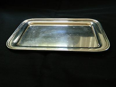 Vintage Silver Soldered Tray from Salisbury Country Club Midlothian VA
