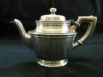 Vintage Silver Soldered Coffee Pot from HOTEL BEACH Bowman Management Florida ?