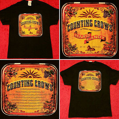 Counting Crows New XL Hard Candy U.S. Tour 2002 Shirt