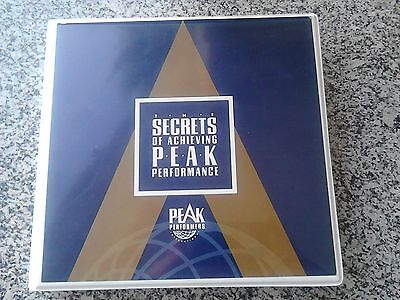 The Secrets of Achieving Peak Performance - Jim Rohn, Brian Tracy & More! RARE!