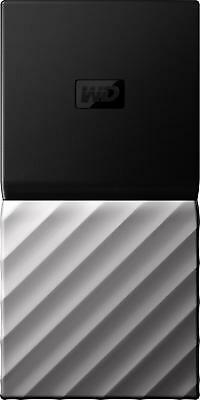 WD - My Passport SSD 1TB External USB 3.1 Gen 2 Portable Hard Drive - Black t...