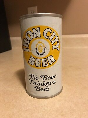 Iron City Beer S/S Can Super Steelers 1975 Pittsburgh 16 Minnesota 6