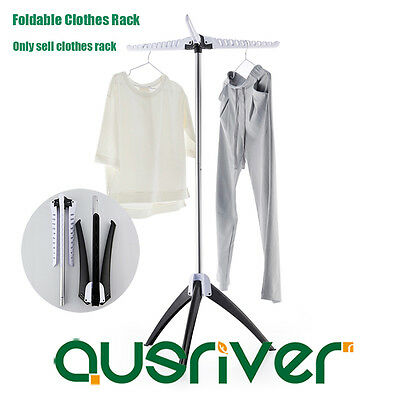 Premium Portable Folding Clothes Airer Stand Clothes Rack Laundry Drying Hanger