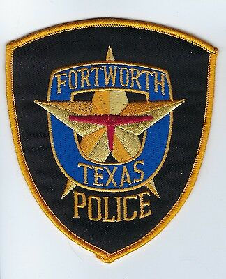 Fort Ft. Worth (Tarrant County) TX Texas Police Dept. patch - NEW!