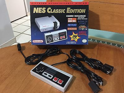 Nintendo Classic Mini With Extra Joystick And 2 Extension Cords