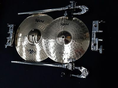 Rech Expansion Set 14'' Nuclear Crash 12'' Radiant Splash Cymbal + Booms & Clamp