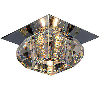 20W Mini G4 Crystal Ceiling Light Modern Decor Flushmount Lamp Lighting Fixture
